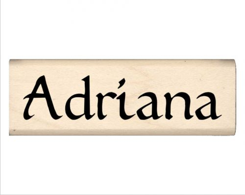 Adriana Name Rubber Stamp