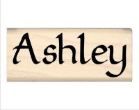 Ashley Name Rubber Stamp