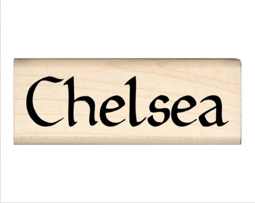Chelsea Name Rubber Stamp