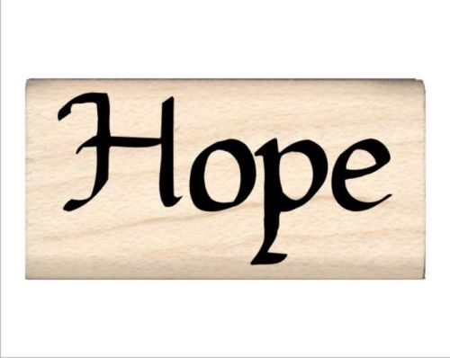Hope Name Rubber Stamp
