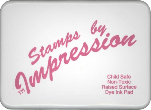 Child Safe Washable Ink Stamp Pad - Pink