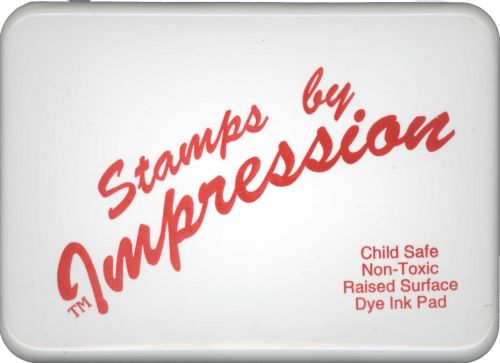Child Safe Washable Ink Stamp Pad - Red