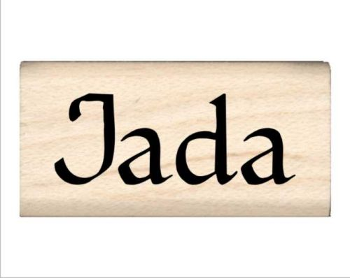 Jada Name Rubber Stamp