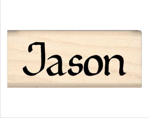 Jason Name Rubber Stamp