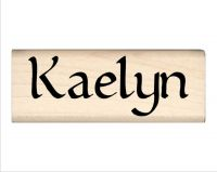 Kaelyn Name Rubber Stamp