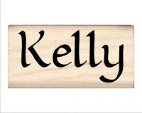 Kelly Name Rubber Stamp