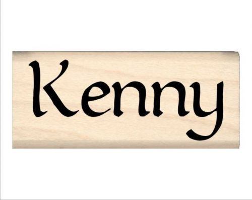 Kenny Name Rubber Stamp