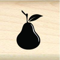Pear Little Rubber Stamp