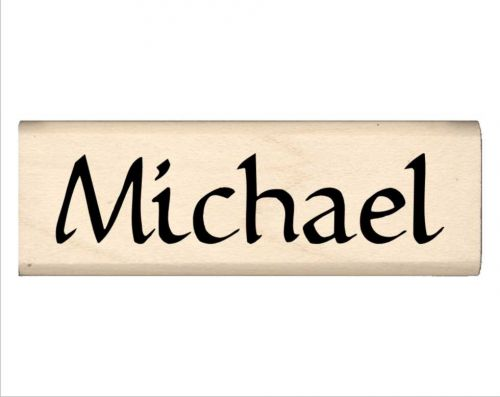 Michael Name Rubber Stamp