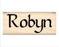 Robyn Name Rubber Stamp