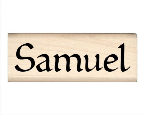 Samuel Name Rubber Stamp