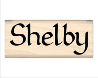 Shelby Name Rubber Stamp