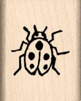 Lady Bug Rubber Stamp