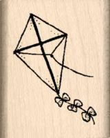 Kite Rubber Stamp
