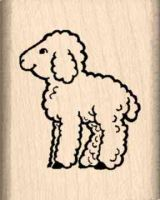 Lamb Rubber Stamp