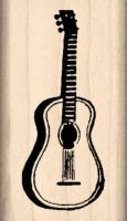 Guitar Rubber Stamp