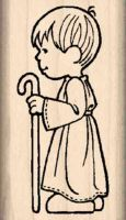 Wise Man 1 Christmas Nativity Rubber Stamp