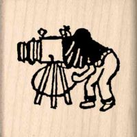 Photographer Rubber Stamp