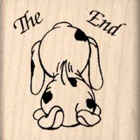 The End Rubber Stamp