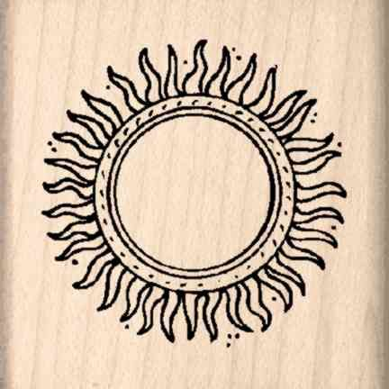 Sun Rubber Stamp