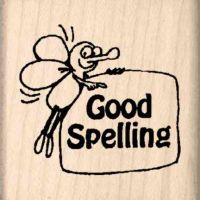 Good Spelling Teacher Rubber Stamp