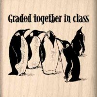Graded together in Class Teacher Rubber Stamp