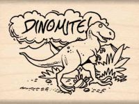 Dinomite! Teacher Rubber Stamp