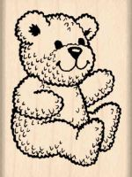 Bear Rubber Stamp