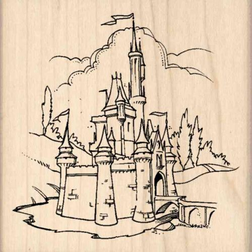 Castle Rubber Stamp
