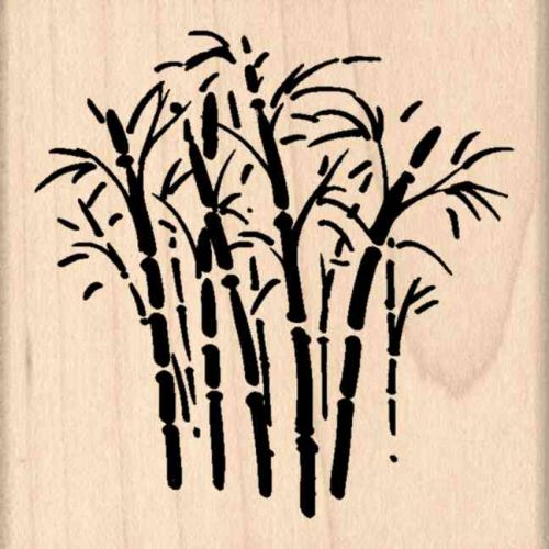 Bamboo Rubber Stamp