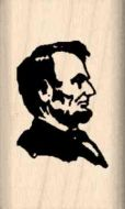 Abraham Lincoln Rubber Stamp