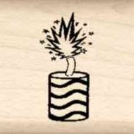 Firecracker Little Rubber Stamp