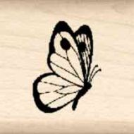 Butterfly Little Rubber Stamp
