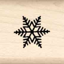 Snowflake Little Rubber Stamp