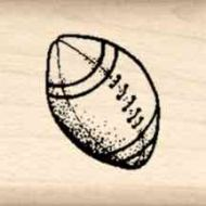 Football Little Rubber Stamp