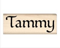 Tammy Name Rubber Stamp